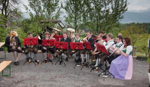Unser befreundeter Musikverein aus Golling