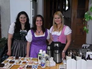 Michaela,Regina und Irene