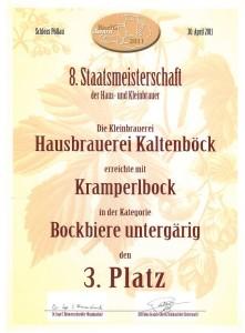 Urkunde 2011