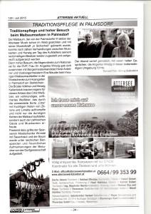Traditionspflege in Palmsdorf